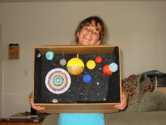 third grade solar system project - photo #15