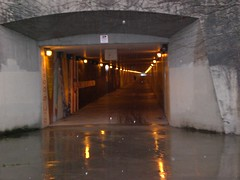 I-90 bicycle tunnel, Westbound