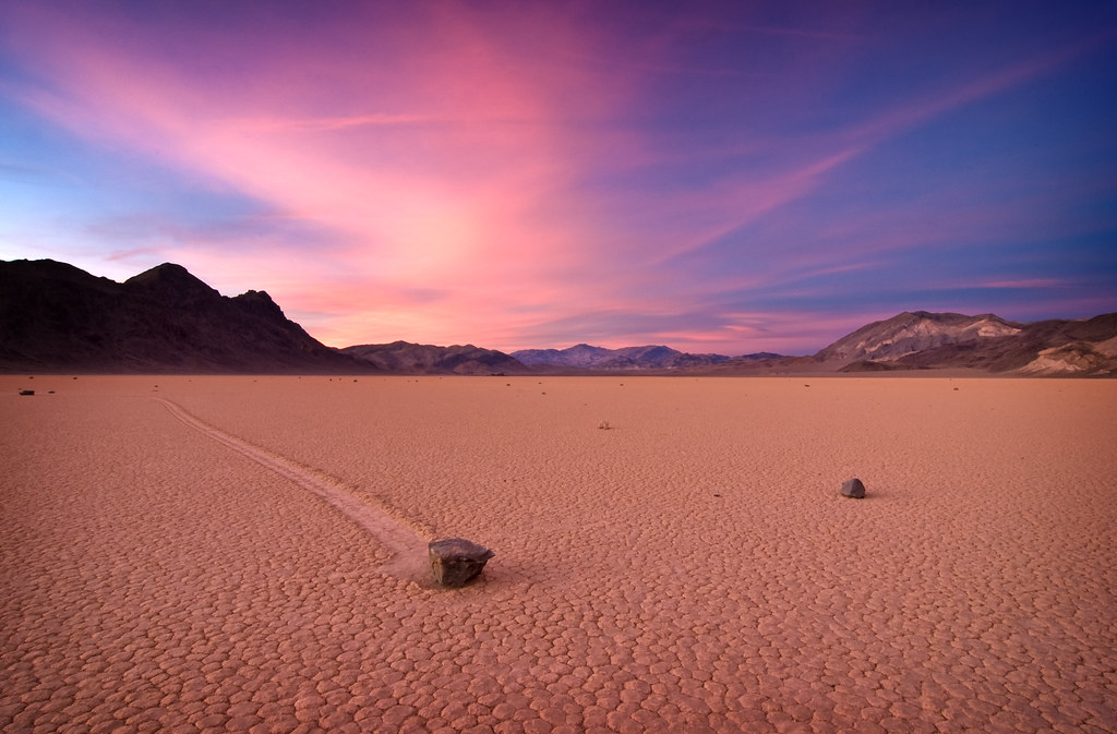 Rochas no Vale da Morte