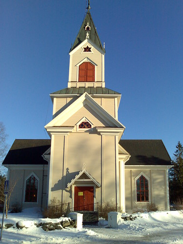 shozu church finland n80 lestijärvi