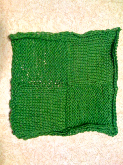 Not-so-average washcloth done!