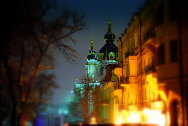 Ukraine, Kiev. St.Andrew's Church