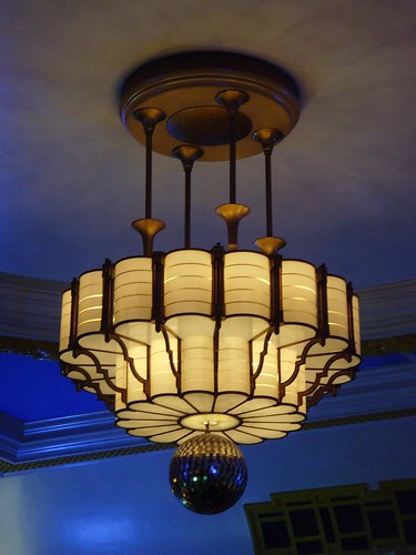 Camden Centre, Bidborough Street: London art deco light by mermaid99
