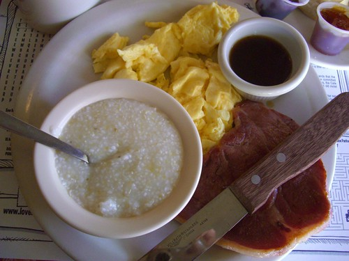 grits ham and grits with red eye gravy recipes dishmaps country ham ...