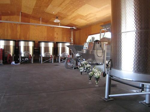napa, calistoga, steel wine barrels IMG_2658