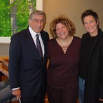 Tony Bennett and WFUV's Rita Houston