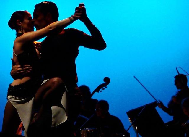 Con pasión - tango