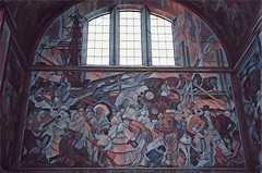 Los Angele California ~ The Los Angeles Public Library ~ Historic Mural