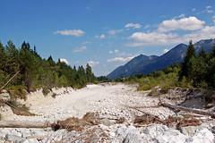 Wallgau - Außerorts (5) - ausgetrocknetes Flussbett