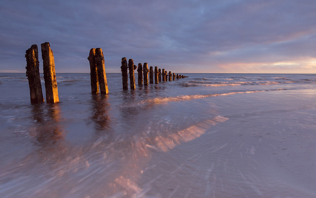 Sunrise at Sandsend