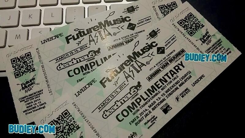 Sekitar Future Music Festival Asia 2014
