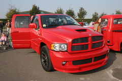 automobile, automotive exterior, pickup truck, dodge ram rumble bee, dodge ram srt-10, wheel, vehicle, truck, grille, bumper, land vehicle, luxury vehicle, motor vehicle,