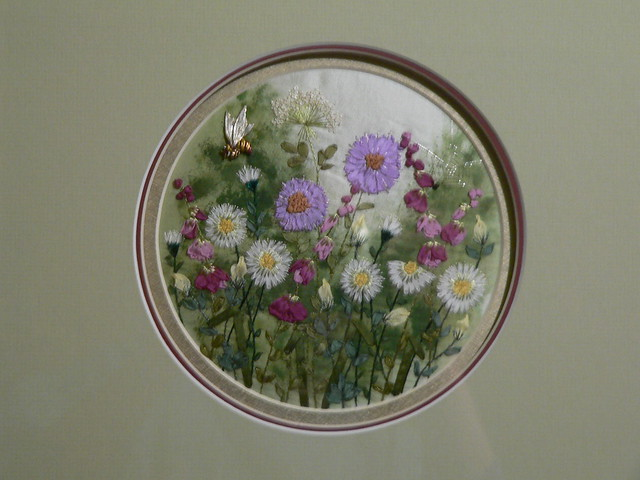 Garden ribbon embroidery flickr photo sharing