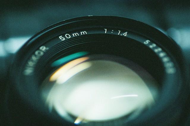 Nikkor 50mm f/1.4 AIS