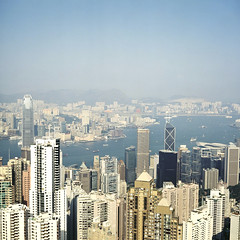 this is a view from the Peak (HK)