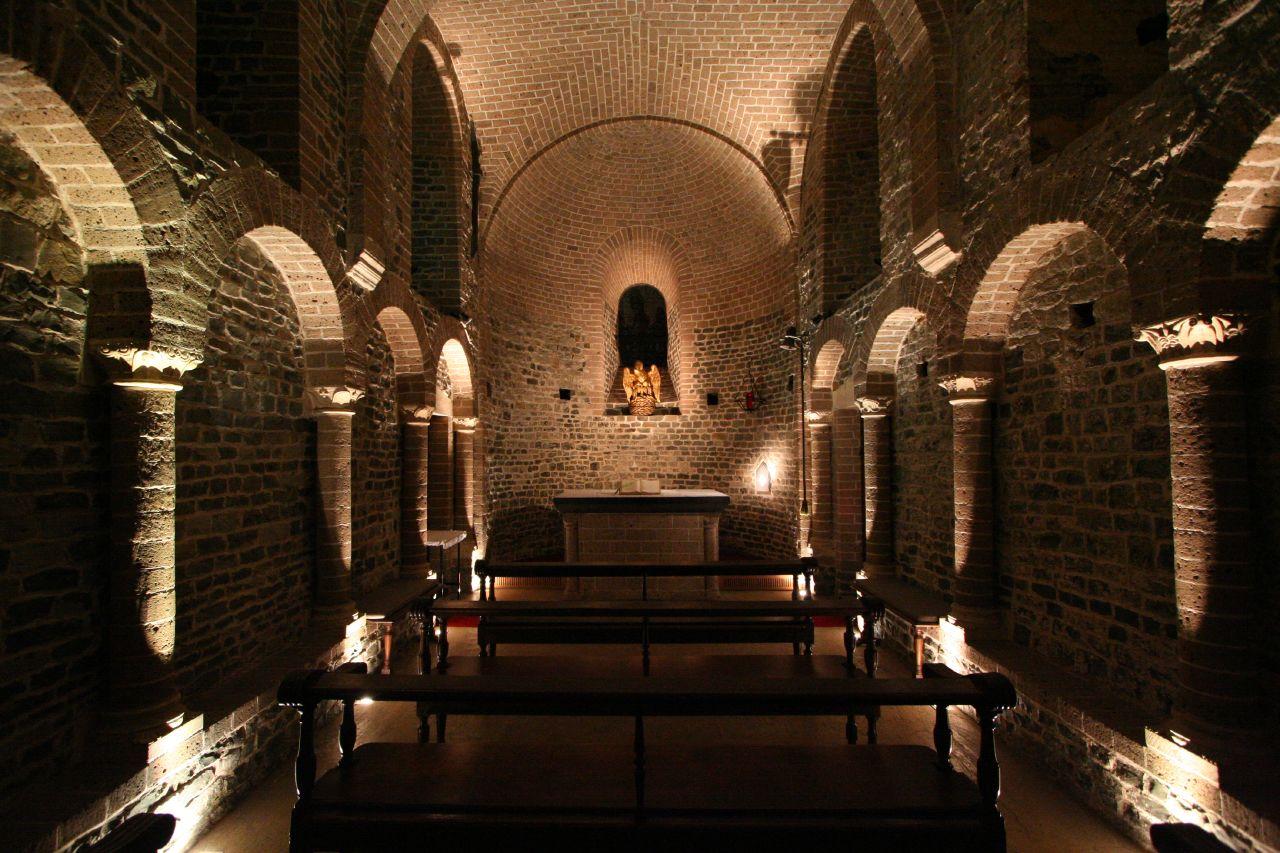 romanesque lower basilica