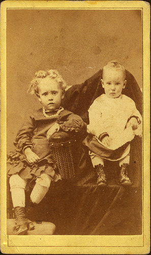 Two Children Utah 1860