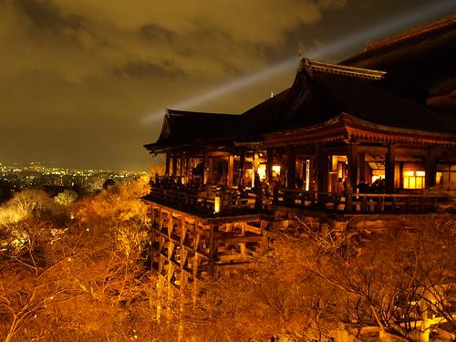 Kiyomizu-dera temple wooden structure - 無料写真検索fotoq