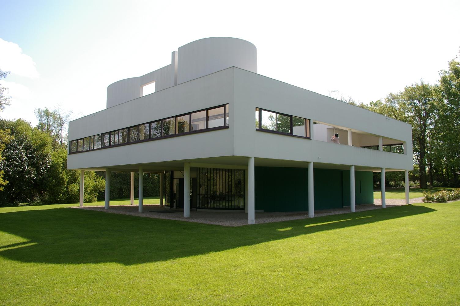 Villa savoye flickr photo sharing - Le corbusier villa savoye ...