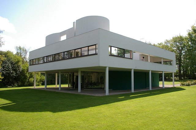 Le Corbusier - Villa Savoye 1 - a gallery on Flickr