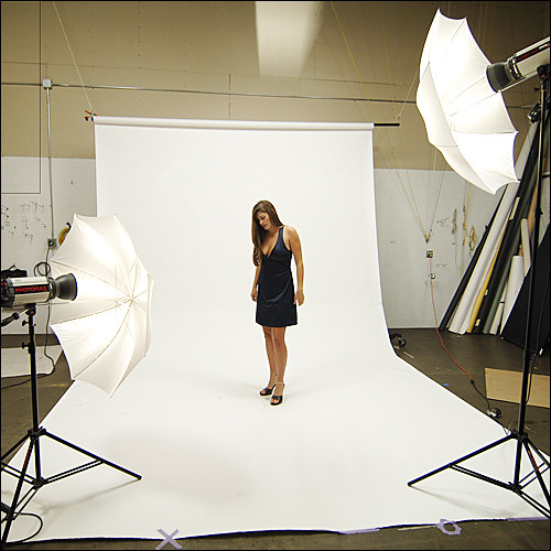 150ws 2 Light Umbrella Set up for a Full Length Potraits! & Lighting - studio - a gallery on Flickr
