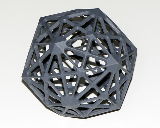 Rhombic triacontahedron small
