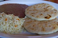 bread(0.0), baked goods(0.0), produce(0.0), meal(1.0), breakfast(1.0), flatbread(1.0), pupusa(1.0), food(1.0), dish(1.0), roti(1.0), naan(1.0), cuisine(1.0), chapati(1.0),