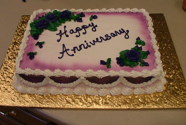 Anniversary Sheet Cake Ideas