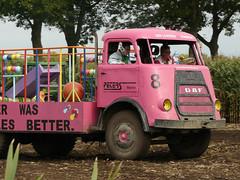 Pink Truck at Black Cross