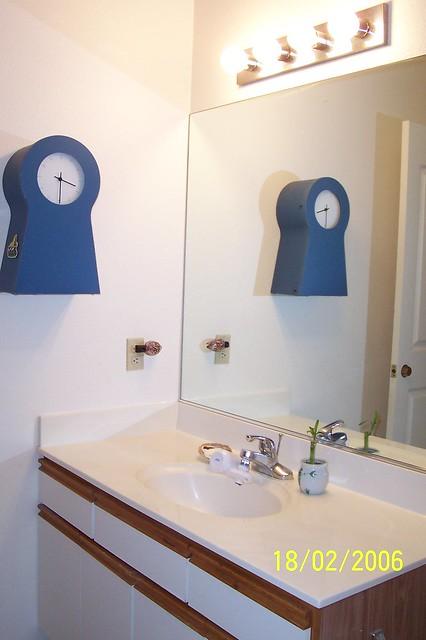 Hallway bathroom sink pur water filter flickr photo sharing for Water filter for bathroom sink