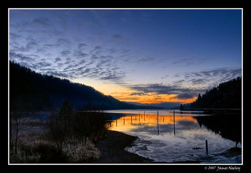 sunset lake idaho hdr coeurdalene lakecoeurdalene 5xp jamesneeley bratanesque
