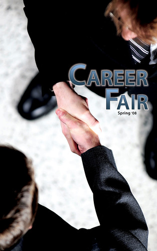 Career Fair '08 Front Cover by gamblingcat