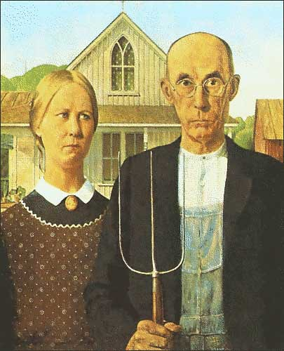 american gothic grant wood flickr photo sharing