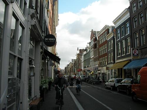Biciclistul se apropie... (in Amsterdam)