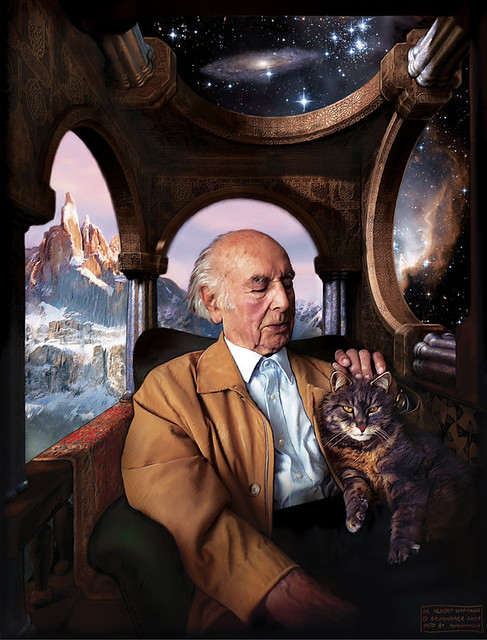 Header of Albert Hofmann