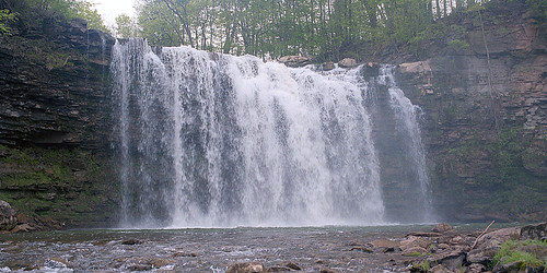 120 mamiya film waterfall panoramic 55mm epson portra 400nc v500 m645 edwardfalls edwardsfalls