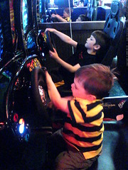 nick vs sequoia in a video test of driving skill   D…