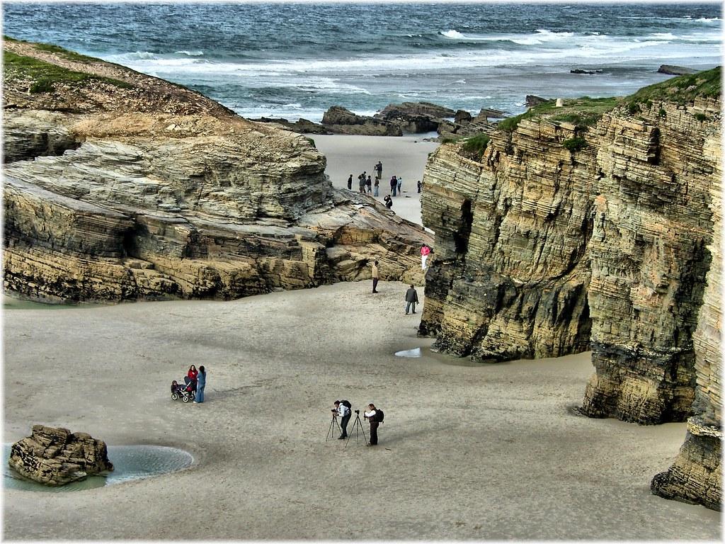 пляж Praia de Augas Santas