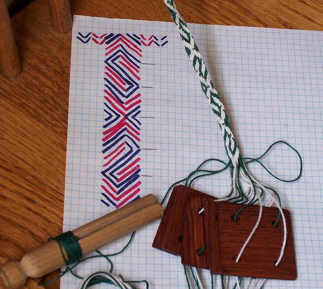 Card Weaving and Inkle Looms from Ursula's Alcove