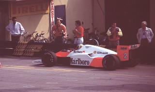 F1 GP Monza 1986 - Keke Rosberg