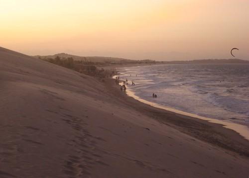 sunset sea praia beach sand dusk fortaleza ceara iguape views100