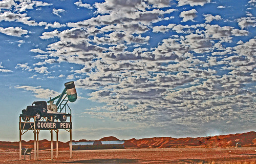 At last, Coober Pedy