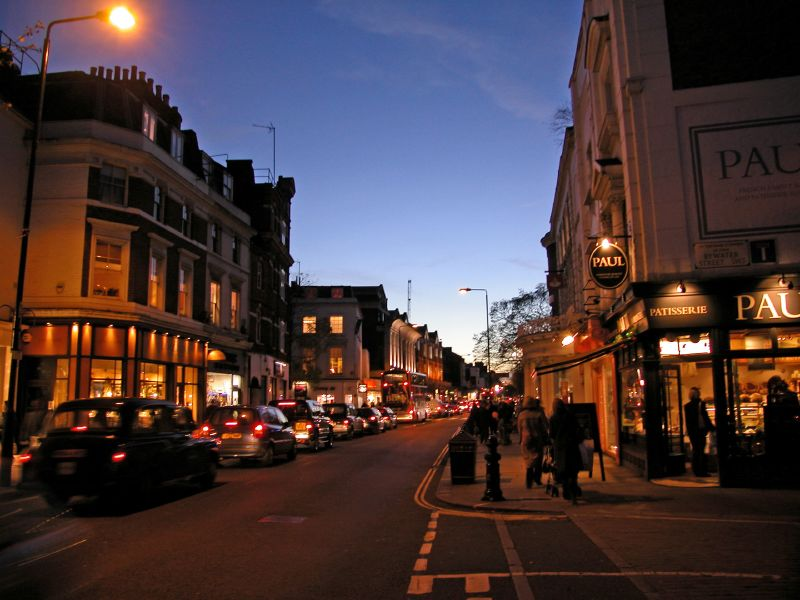 King's Road early evening 7dec
