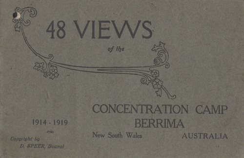 Berrima Concentration Camp Front Cover