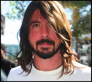 Dave Grohl, Sun-kissed, Outside of the Grammys, February 10, 2008