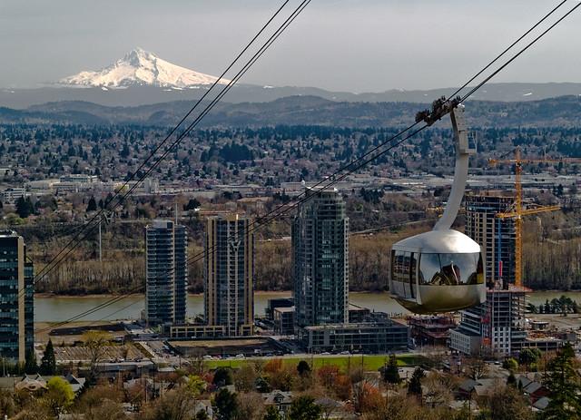 Portland Car Show >> Portland Aerial Tram - a gallery on Flickr