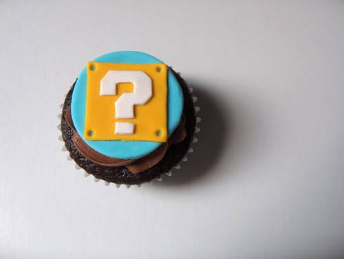 Question Mark Cupcake