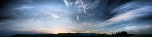 newzealand sky mountains clouds sunrise alpine greymouth