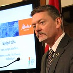 Budget 2014: Minister Horner walking media through budget presentation