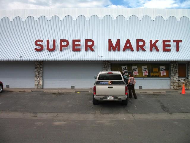 Shopping at a Super Market